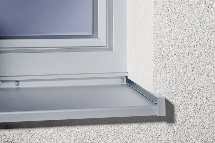 Aluminium für außen - HIRTH Fensterbänke